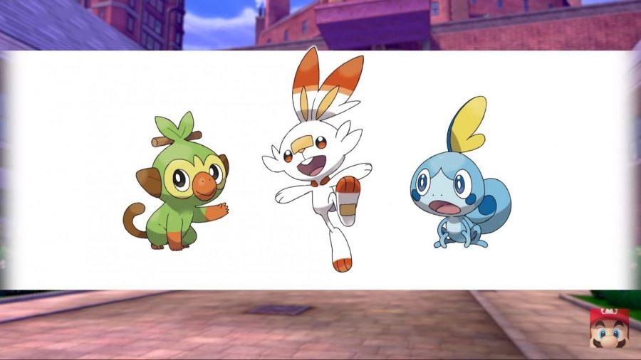 Pokemon+8gen+Starters