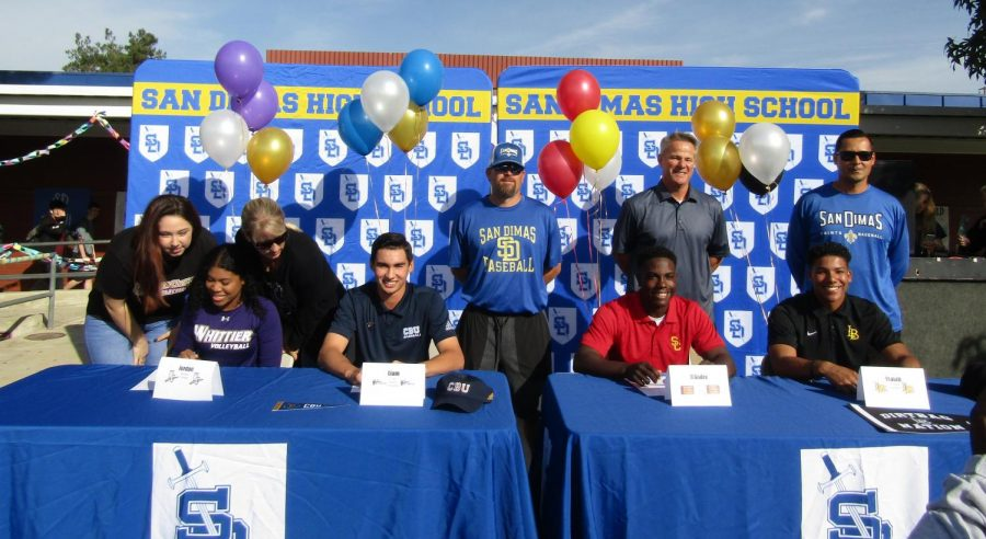 Four Athletes, Four Colleges