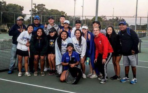 Lady Saints Tennis