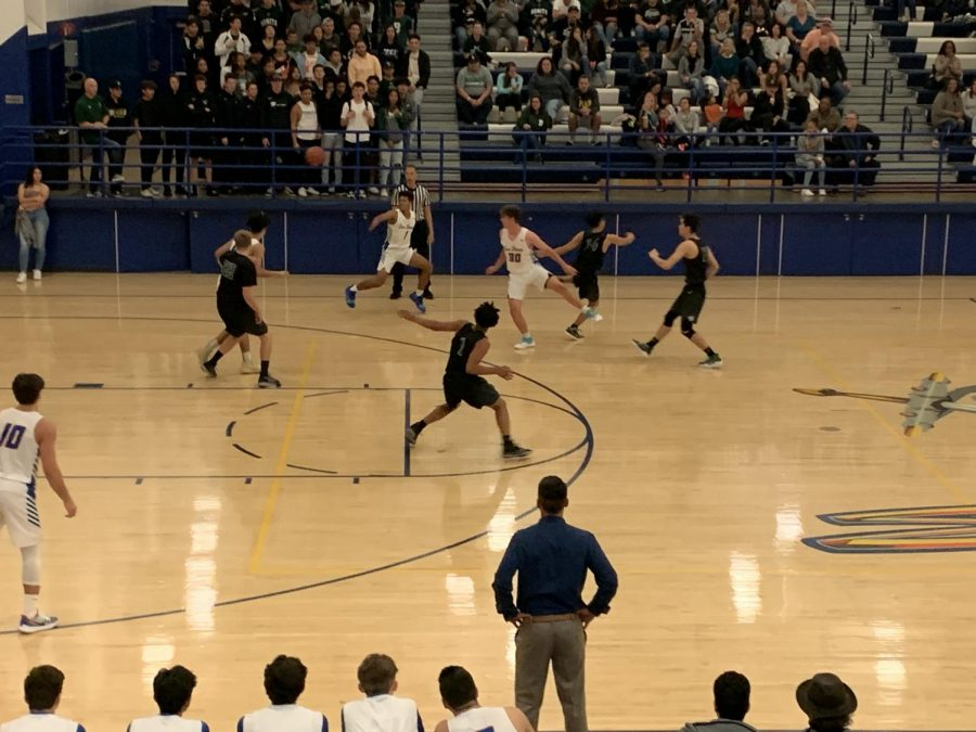 Saints Basketball take on the Bonita Bearcats