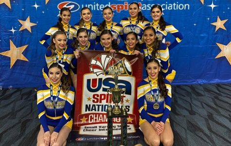 Cheer Wins State Champions